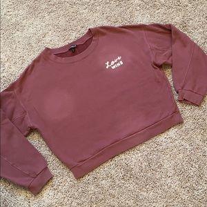 Express Crop Sweatshirt